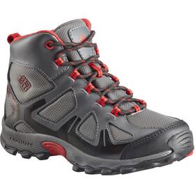 Columbia Peakfreak XCRSN WP Schoenen Kinderen grijs/rood